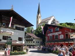 kirchberg kerk zomer